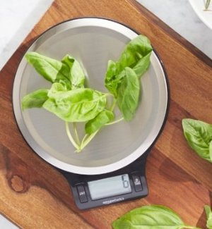 $9.99 AmazonBasics Digital Kitchen Scale with LCD Display