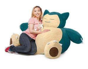 $149.99 Pre-Order Pokémon Snorlax Bean Bag Chair