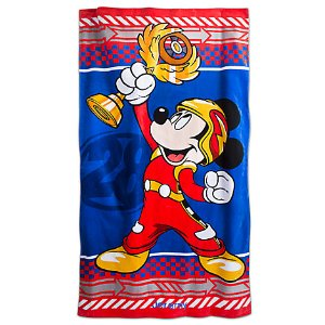 Mickey Mouse Beach Towel - Mickey and the Roadster Racers - Personalizable | Disney Store