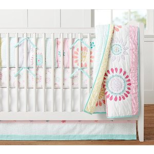 Maya Dandelion Baby Bedding | Pottery Barn Kids