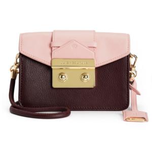 BALBOA LEATHER MINI CROSSBODY BAG - Juicy Couture