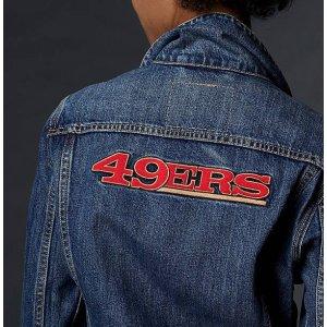 Levi's® NFL Varsity Trucker Jacket   49ers  Levi's® United States (US)