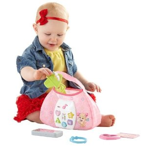 $11.99 Fisher-Price Laugh & Learn Sis' Smart Stages Purse