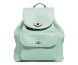 COACH Pebble Mini Turnlock Backpack