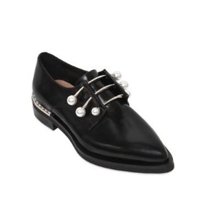 COLIAC 20MM FERNY LEATHER PIERCING SHOES