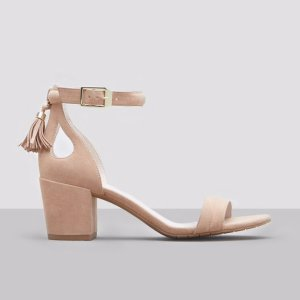 Harriet Suede Block Heel | Kenneth Cole