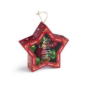 Chocolate Gold Star Ornament