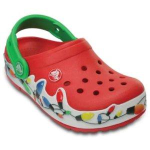Kid's Holiday Shoes - Kid's Lights Holiday Clog | Crocs