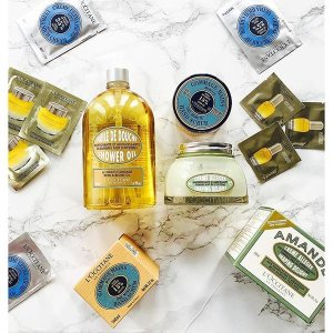 Free Gift with Orders over $65 @ L'Occitane