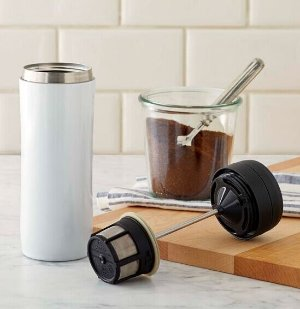 Espro Coffee Travel Press, White