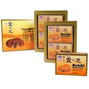 Japanese Reishi Twin Pack Bundle + Bonus 60 ct.