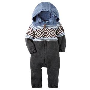 Baby Boy Fair Isle Jumpsuit | Carters.com