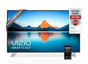 $533.14 VIZIO 50 Inch 4K HDR Ultra HD LED Smart TV w/Chromecast Built-In M50-D1 (2016 Model)