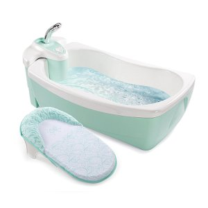 Summer Infant Lil Luxuries Whirlpool Spa & Shower - Green - Summer Infant - Babies