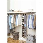 Better Homes and Gardens 10-Shelf Organizer, Grey
