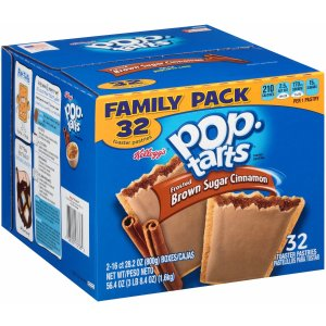Pop-Tarts Frosted Brown Sugar Cinnamon, 32 Count