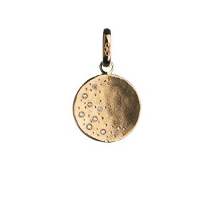 Watch Over Me Moon 18K Yellow Gold Charm | Women Charms, Official Links of London