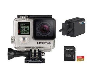 Start!$199 GoPro HERO4 Silver Essential Bundle