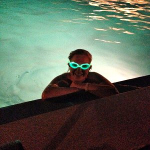 Start from $14.95 Glow in the Dark Swim Goggles