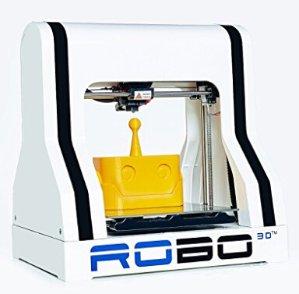 $599.99 ROBO 3D R1 Plus 10x9x8-Inch ABS/PLA 3D Printer, White