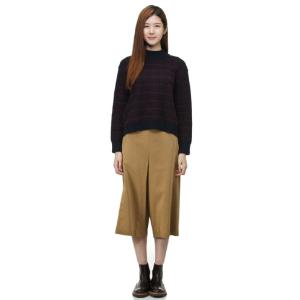 [CUSTOMELLOW] halfneck crop sweater