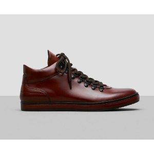 Brand Tour Leather Sneaker   Kenneth Cole