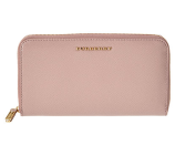 Burberry Patent London Leather Zip Around Wallet