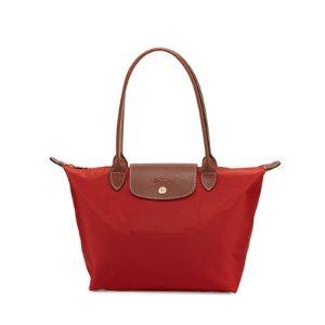 Longchamp Le Pliage 中号长柄手袋