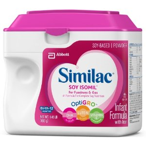 Similac Soy Isomil Infant Formula, Powder, 23.2 ounces (Pack of 6) | Jet.com