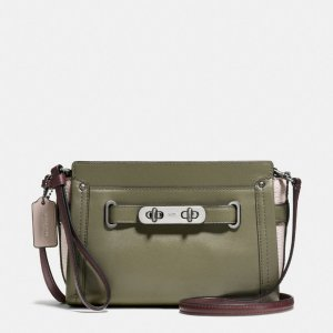 COACH: Swagger Wristlet In Colorblock Leather