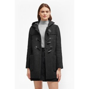 Teddy Check Hooded Duffle Coat | Sale | French Connection Usa