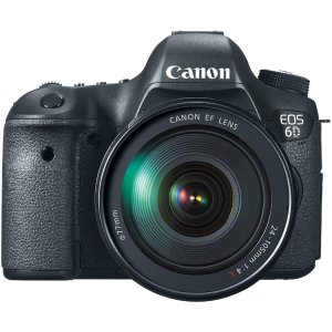 $1789.99包邮美亚史低价!佳能EOS 6D 数码单反相机+小三元 24-105mm镜头套装