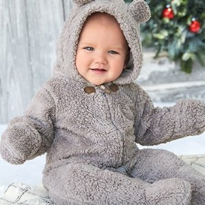 Up to 60% Off + Extra 25% Off $40 Baby and Kid's Outerwear @ Carter's