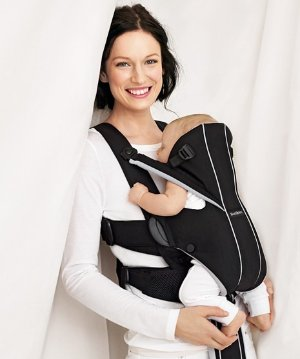 $55.48 BABYBJORN Baby Carrier Miracle - Black/Brown, Organic Cotton