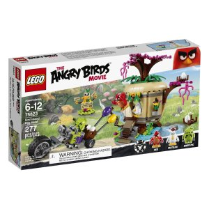 LEGO Angry Birds 75823 Bird Island Egg Heist Building Kit