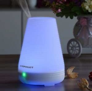 $11.99 URPOWER 100ml 7 Color Changing Essential Oil Diffuser