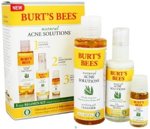 Burt's Bees Natural Acne Solutions 3 Step Regimen Kit