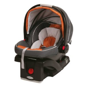 Graco SnugRide Click Connect 35 Infant Car Seat, Tangerine