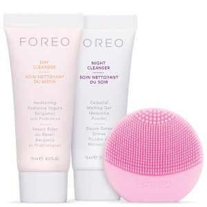 FOREO Holiday Cleansing Must-Haves - (LUNA play) Pearl Pink (Worth $60) - Skinstore
