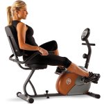 Marcy Recumbent Exercise Bike: ME-709