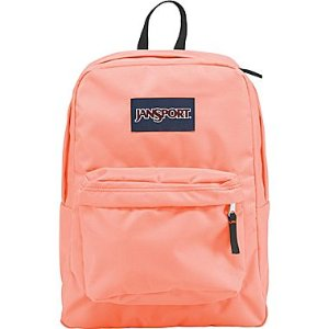 Jansport Superbreak Backpack, Coral Peach