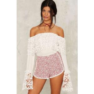 Samira Floral Shorts