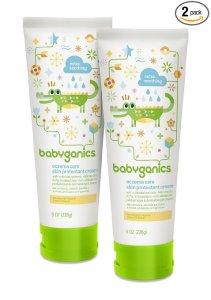 $2.37 + Free Shipping Babyganics Eczema Care Skin Protectant Cream, 8 oz Tube (Pack of 2)