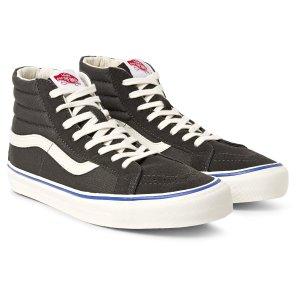 Vans - OG Sk8-Hi LX Suede and Canvas High-Top Sneakers