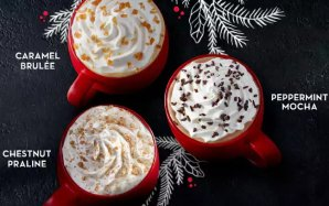 Upcoming! Buy One Get One Free! Starbucks Holiday Drinks @ Starbucks Stores