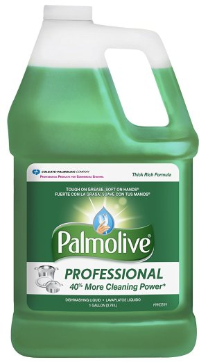 $21.56 Palmolive 204915 Professional Dishwashing Liquid, 1 gal Bottle (Pack of 4)