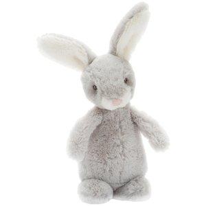 Jellycat Bobtail Bunny Silver - Free Shipping