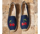 Soludos Cherry Espadrille Flats