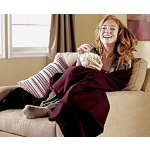 Sunbeam Heated Throw @ Amazon.com