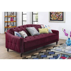 $289Novogratz Vintage Tufted Sofa Sleeper II, Multiple Colors